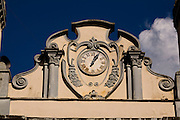 Barra Longa_MG, Brasil...Detalhes arquitetônicos da igreja Sao Jose, Matriz da cidade...Architectural detail of Sao Jose  mother church in Barra Longa...Foto: LEO DRUMOND / NITRO.