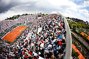 Roland Garros 2011. Paris, France. May 27th 2011..The Suzanne LENGLEN court