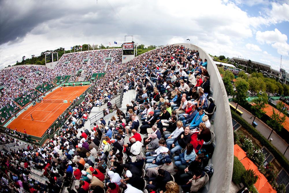 Roland Garros 2011. Paris, France. May 27th 2011..The Suzanne LENGLEN court