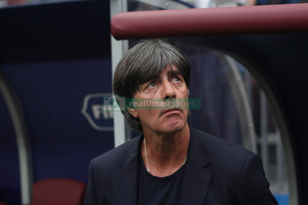 June 17, 2018 - Moscow, Russia - June 17, 2018, Russia, Moscow, FIFA World Cup, First round, Group F, Germany vs Mexico at the Luzhniki stadium. Head coach of the national team Joachim Loew; Joachim Leo (Credit Image: © Russian Look via ZUMA Wire)