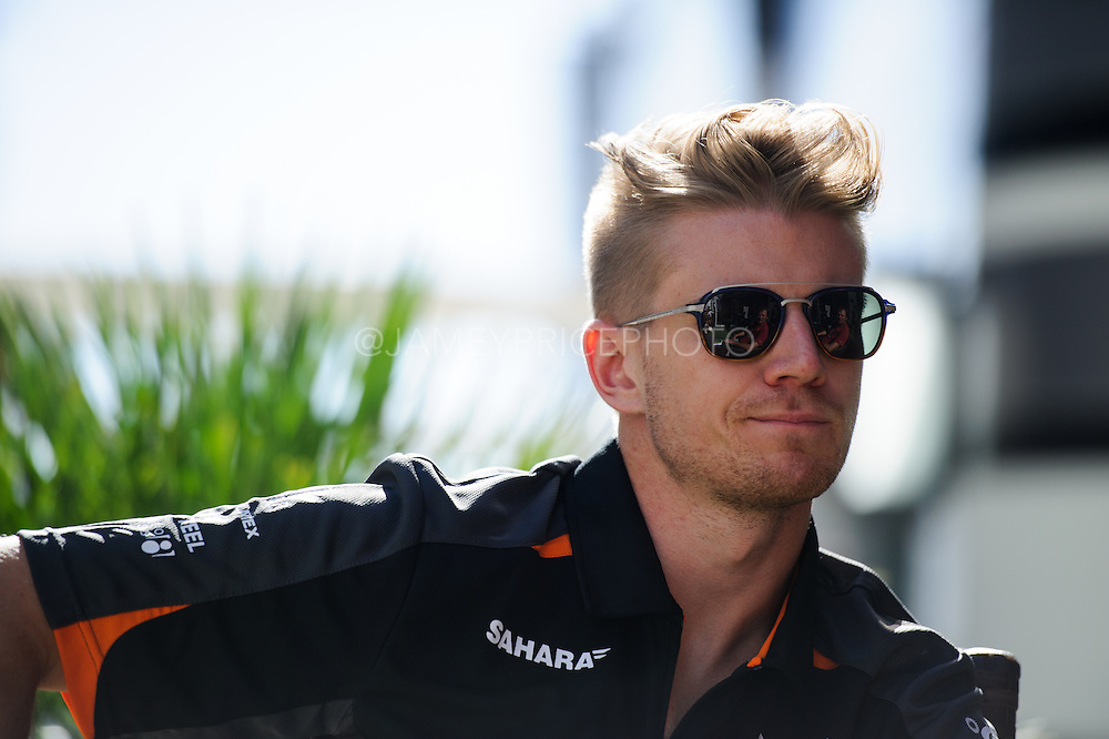 October 8, 2015: Russian GP 2015: Nico Hulkenberg (GER), Force India-Mercedes