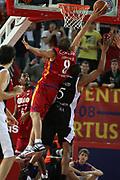 DESCRIZIONE : Roma Lega A1 2008-09 Lottomatica Virtus Roma La Fortezza Virtus Bologna<br /> GIOCATORE : Alessandro Tonolli<br /> SQUADRA : Lottomatica Virtus Roma<br /> EVENTO : Campionato Lega A1 2008-2009 <br /> GARA : Lottomatica Virtus Roma La Fortezza Virtus Bologna<br /> DATA : 30/11/2008 <br /> CATEGORIA : rimbalzo stoppata<br /> SPORT : Pallacanestro <br /> AUTORE : Agenzia Ciamillo-Castoria/E.Castoria<br /> Galleria : Lega Basket A1 2008-2009 <br /> Fotonotizia : Roma Campionato Italiano Lega A1 2008-2009 Lottomatica Virtus Roma La Fortezza Virtus Bologna<br /> Predefinita :