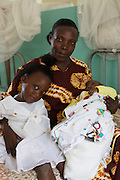 """Florence Nakayiza had her fistula operation in summer 2005 and has gone on to have a son and a daughter.<br /> <br /> She says; """"After I was cured I felt like giving everything to the nurses because I felt so good, but I have nothing to give so instead, if I see someone with the same problem I tell them about my experiences and tell them to come here and be cured."""""""