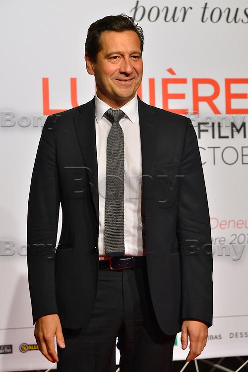 Laurent Gerra<br /> Lyon 8 oct 2016 - Festival Lumi&egrave;re 2016 - C&eacute;r&eacute;monie d&rsquo;Ouverture<br /> 8th Film Festival Lumiere In Lyon : Opening Ceremony