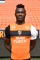 Franklin Wadja Tchantcho during photoshooting of FC Lorient for new season 2017/2018 on September 12, 2017 in Lorient, France. (Photo by Philippe Le Brech/Icon Sport)