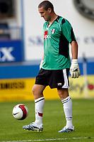 Photo: Marc Atkins.<br />Luton Town v Fulham. Pre Season Friendly. 21/07/2006.<br />Fulham Goalkeeper Mark Crossley