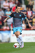 Sheffield Wednesday Midfielder Ross Wallace during the Sky Bet Championship match between Brentford and Sheffield Wednesday at Griffin Park, London, England on 26 September 2015. Photo by Phil Duncan.