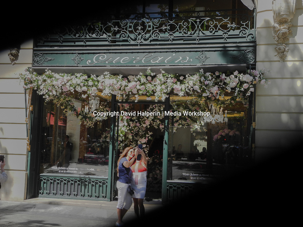Guerlain perfume & cosmentic store, Champs Elysees, Paris