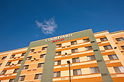 Architectural image of Courtyard by Marriott Hotel in Hagerstown Maryland
