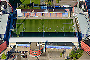 Nederland, Noord-Brabant, Den Bosch, 23-08-2016; stadion De Vliert van FC Den Bosch.<br /> The stadium Vliert Football club FC Den Bosch.<br /> luchtfoto (toeslag op standard tarieven);<br /> aerial photo (additional fee required);<br /> copyright foto/photo Siebe Swart