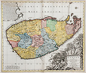 CEYLON - Antiquarian Maps & Prints