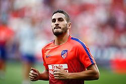 August 25, 2018 - Koke of Atletico de Madrid during the spanish league, La Liga, football match between Atletico de Madrid and Rayo Vallecano on August 25, 2018 at Wanda Metropolitano stadium in Madrid, Spain. (Credit Image: © AFP7 via ZUMA Wire)