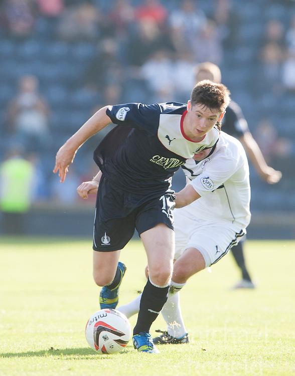 Falkirk's Conor McGrandles.<br /> Raith Rovers 1 v 1 Falkirk, Scottish Championship 28/9/2013.<br /> &copy;Michael Schofield.