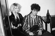 Punks at a gig, UK, 1980s