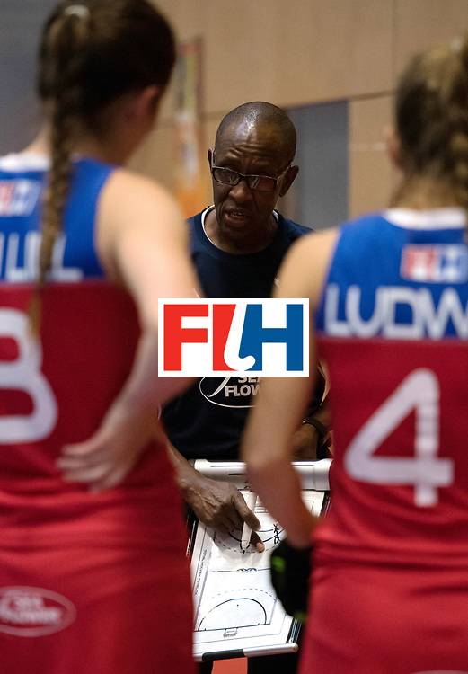 BERLIN - Indoor Hockey World Cup<br /> United States - Namibia<br /> foto: HANDURA Erwin<br /> WORLDSPORTPICS COPYRIGHT FRANK UIJLENBROEK
