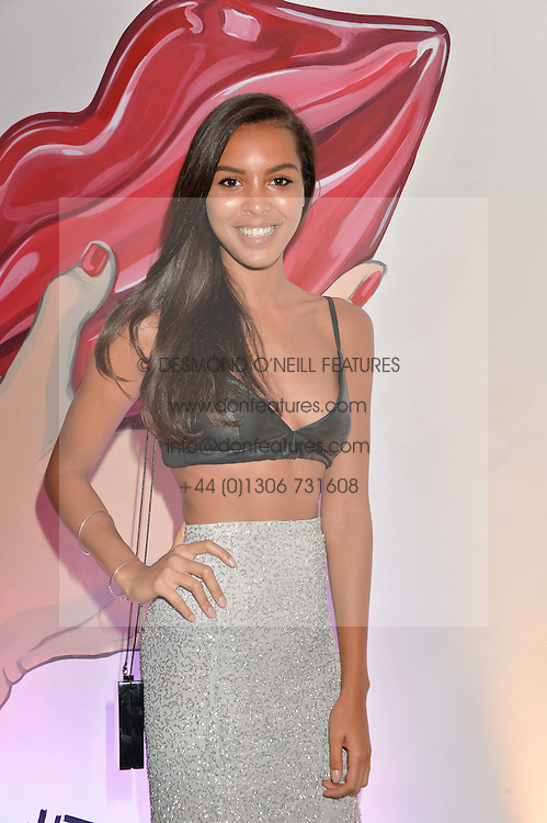 ARLISSA at the launch of The Lulu Perspective to celebrate 25 years of Lulu Guinness held at 74a Newman Street, London on 13th September 2014.
