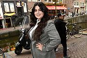 Llancering van de nieuwste editie van LINDA.man in Excalibur Café, Amsterdam<br /> <br /> Op de foto:  Roxeanne Hazes