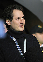 John Elkann Juventus.Glasgow 12/02/2013 Celtic Park Stadium.Football Calcio Champions League Season 2012/13.Celtic Glasgow vs Juventus.Foto Insidefoto Federico Tardito