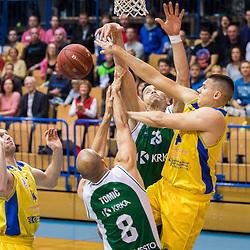 20160514: SLO, Basketball - Nova KBM Slovenian Champions League, KK Sencur GGD vs KK Krka