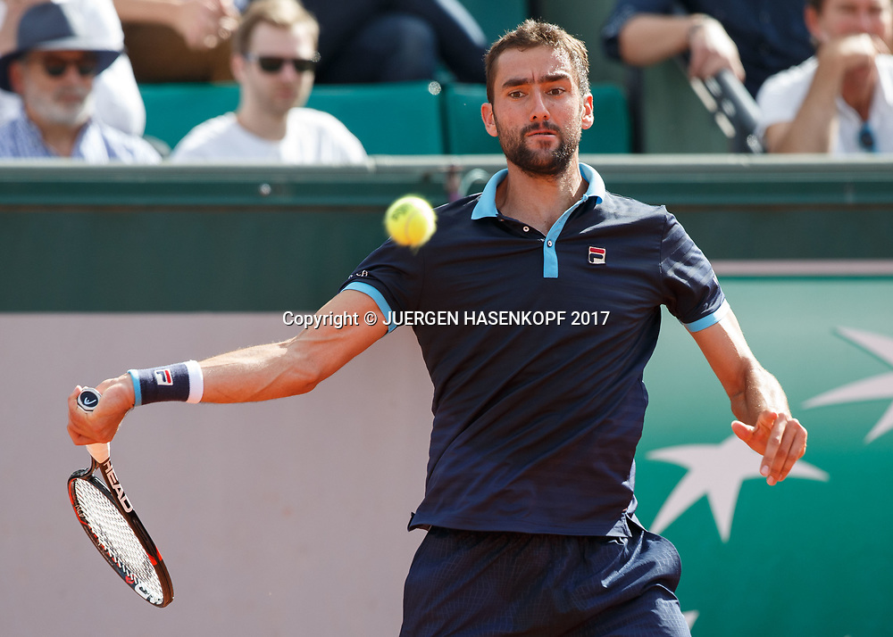 MARIN CILIC (CRO)<br /> <br /> Tennis - French Open 2017 - Grand Slam / ATP / WTA / ITF -  Roland Garros - Paris -  - France  - 7 June 2017.