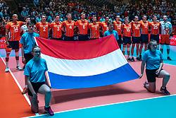 25-05-2019 NED: Golden League Netherlands - Croatia, Apeldoorn<br /> First match poule B: Dutch open Golden European League with 3-2 win over Croatia / Team Netherlands