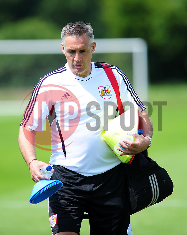 Bristol City's first team coach, John Pemberton - Photo mandatory by-line: Dougie Allward/JMP - Tel: Mobile: 07966 386802 28/06/2013 - SPORT - FOOTBALL - Bristol -  Bristol City - Pre Season Training - Npower League One