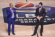 Egidio Bianchi<br /> Presentazione Campionato Lega Basket 2016-2017<br /> Basket Serie A  2016<br /> Milano 26/09/2016<br /> Foto Ciamillo-Castoria