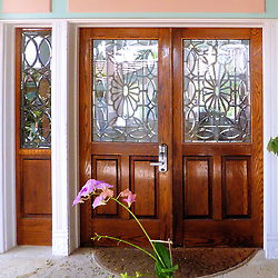 Front Door, Southernmost House, Key West, Florida