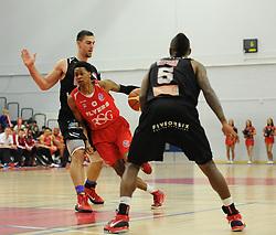 Bristol Flyers' Bree Perine - Photo mandatory by-line: Dougie Allward/JMP - Mobile: 07966 386802 - 13/03/2015 - SPORT - Basketball - Bristol - SGS Wise Campus - Bristol Flyers v Leicester Riders - British Basketball League