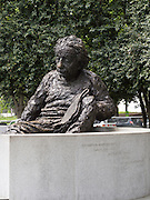The Albert Einstein Statue in front of the National Academy of Sciences, Washington, DC.