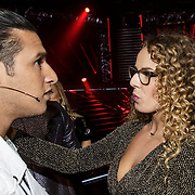 NLD/Hilversum/20141121- 2de Live The Voice of Holland, Ali B. en Kelly Cossee