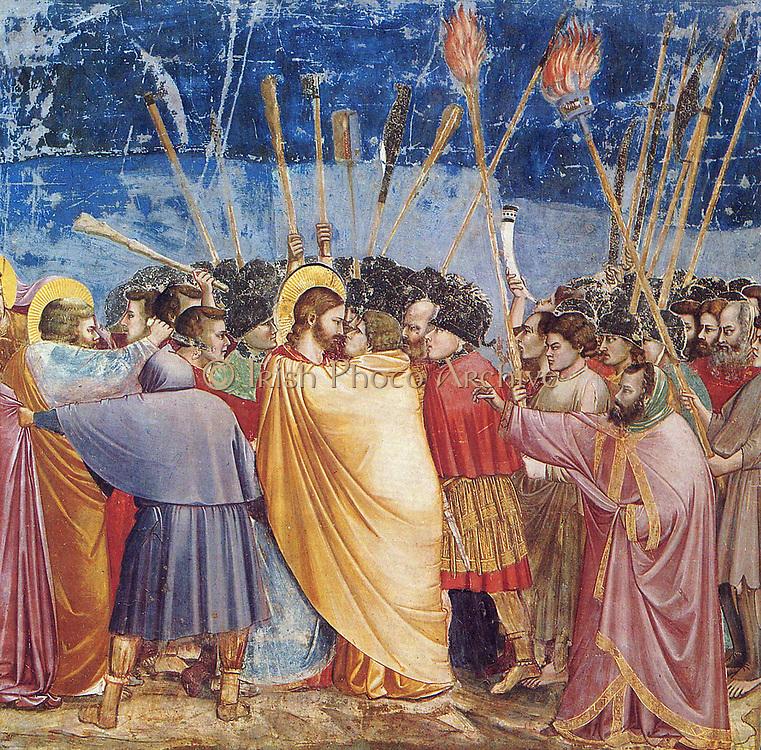Giotto, The Kiss of Judas (Padua)
