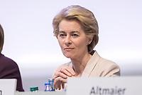 22 NOV 2019, LEIPZIG/GERMANY:<br /> Ursula von der Leyen, CDU, gewaehlte Praesidentin der Europaeischen Kommission, CDU Bundesparteitag, CCL Leipzig<br /> IMAGE: 20191122-01-029<br /> KEYWORDS: Parteitag, party congress