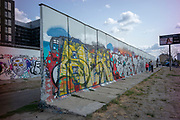 Berlin, Germany, Tuesday,  28th August 2018, Berlin Mauer, [Wall], East Side Gallery, Graffiti, Panels,  © Peter SPURRIER,