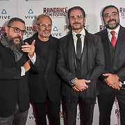 Enzo Sisti and his teams Nominated attends the Raindance Film Festival - VR Awards, London, UK. 6 October 2018.