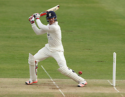 Durham's Keaton Jennings in action - Photo mandatory by-line: Robbie Stephenson/JMP - Mobile: 07966 386802 - 03/05/2015 - SPORT - Football - London - Lords  - Middlesex CCC v Durham CCC - County Championship Division One