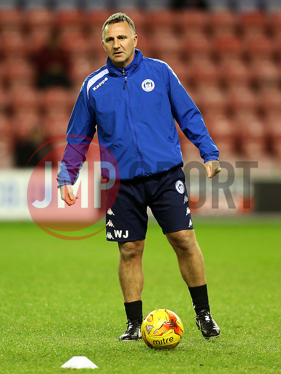 Wigan Athletic manager Warren Joyce - Mandatory by-line: Matt McNulty/JMP - 07/02/2017 - FOOTBALL - DW Stadium - Wigan, England - Wigan Athletic v Norwich City - Sky Bet Championship