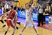 DESCRIZIONE : Roma Lega A 2014-2015 Acea Roma Grissinbon Reggio Emilia<br /> GIOCATORE : Maxime De Zeeuw<br /> CATEGORIA : passaggio<br /> SQUADRA : Acea Roma<br /> EVENTO : Campionato Lega A 2014-2015<br /> GARA : Acea Roma Grissinbon Reggio Emilia<br /> DATA : 16/03/2015<br /> SPORT : Pallacanestro<br /> AUTORE : Agenzia Ciamillo-Castoria/GiulioCiamillo<br /> GALLERIA : Lega Basket A 2014-2015<br /> FOTONOTIZIA : Roma Lega A 2014-2015 Acea Roma Grissinbon Reggio Emilia<br /> PREDEFINITA :
