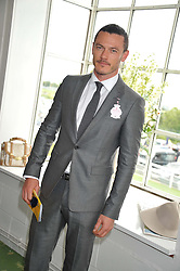 LUKE EVANS at the 3rd day of the 2012 Glorious Goodwood racing festival at Goodwood Racecourse, West Sussex on 2nd August 2012.