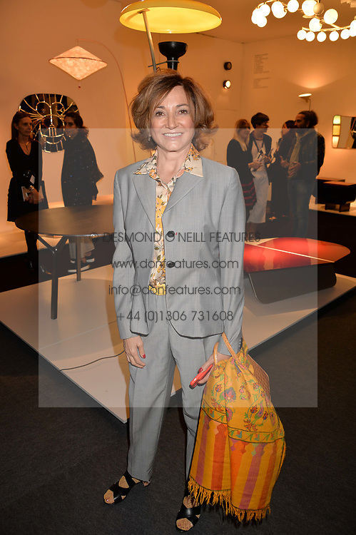 Dorrit Moussaieff at the 2017 PAD Collector's Preview, Berkeley Square, London, England. 02 October 2017.