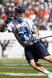 10 April 2010: North Carolina Tar Heels defenseman Sean Jackson (33) during a 7-5 loss to the Virginia Cavaliers at the New Meadowlands Stadium in the Meadowlands, NJ.