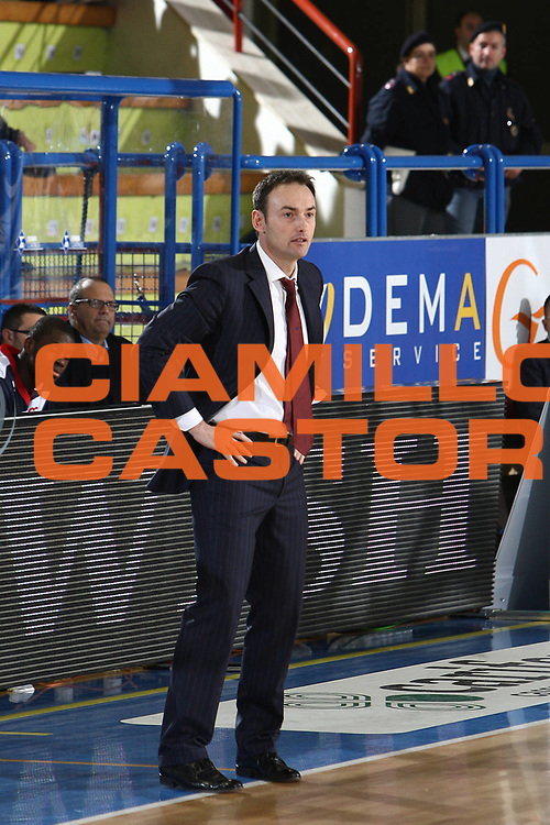 DESCRIZIONE : Porto San Giorgio Lega A 2009-10 Sigma Coatings Montegranaro Angelico Biella<br /> GIOCATORE : Luca Bechi<br /> SQUADRA : Angelico Biella <br /> EVENTO : Campionato Lega A 2009-2010 <br /> GARA : Sigma Coatings Montegranaro Angelico Biella<br /> DATA : 13/12/2009<br /> CATEGORIA : coach<br /> SPORT : Pallacanestro <br /> AUTORE : Agenzia Ciamillo-Castoria/C.De Massis<br /> Galleria : Lega Basket A 2009-2010 <br /> Fotonotizia : Porto San Giorgio Lega A 2009-10 Sigma Coatings Montegranaro Angelico Biella<br /> Predefinita :