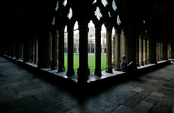 UK ENGLAND CANTERBURY 15OCT05 - Scene from interior of Canterbury Cathedral, a combination of Norman and Gothic styles of architecture...jre/Photo by Jiri Rezac..© Jiri Rezac 2005.Contact: +44 (0) 7050 110 417.Mobile: +44 (0) 7801 337 683.Office: +44 (0) 20 8968 9635..Email: jiri@jirirezac.com.Web: www.jirirezac.com..© All images Jiri Rezac 2005 - All rights reserved.