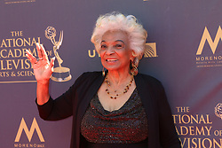 April 30, 2017 - Pasadena, CA, USA - LOS ANGELES - APR 30:  Nichelle Nichols at the 44th Daytime Emmy Awards - Arrivals at the Pasadena Civic Auditorium on April 30, 2017 in Pasadena, CA (Credit Image: © Kathy Hutchins/via ZUMA Wire via ZUMA Wire)