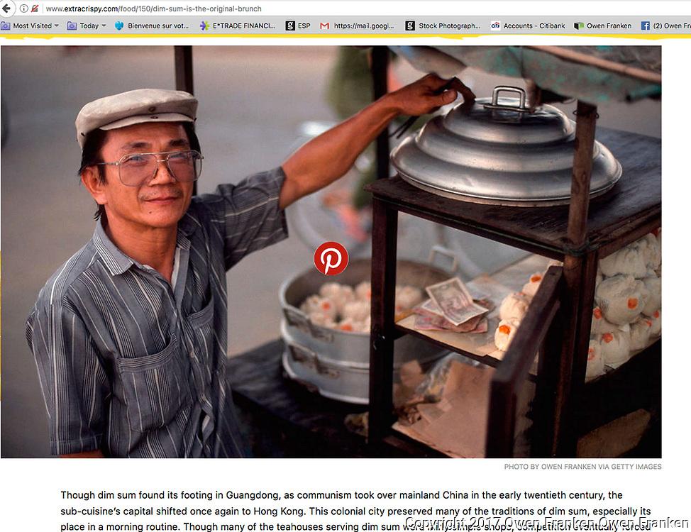 screenshot of online published works