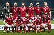 FOOTBALL: The players of Denmark before the friendly match between Denmark and Panama at Brøndby Stadium on March 22, 2018 in Brøndby, Copenhagen, Denmark. Photo by: Claus Birch / ClausBirch.dk.