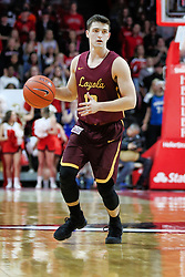 NORMAL, IL - February 02:  Clayton Custer during a college basketball game between the ISU Redbirds and the University of Loyola Chicago Ramblers on February 02 2019 at Redbird Arena in Normal, IL. (Photo by Alan Look)