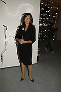 Cherie Lunghi, USA Today. Saatchi Gallery and The Royal academy of Arts. Piccadilly. London. 5 October 2006. -DO NOT ARCHIVE-© Copyright Photograph by Dafydd Jones 66 Stockwell Park Rd. London SW9 0DA Tel 020 7733 0108 www.dafjones.com