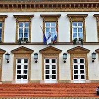 Hôtel de Ville in Luxembourg City, Luxembourg<br />