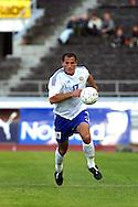 22.05.2002, Olympic Stadium, Helsinki, Finland..Friendly International match, Finland v Latvia..Shefki Kuqi - Finland.©Juha Tamminen